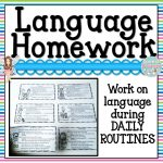 Speech Therapy Fun: Summer Homework