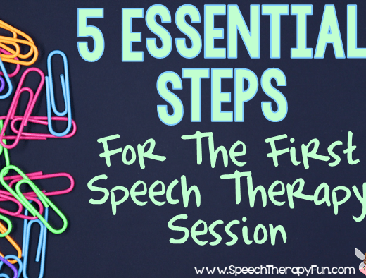 Speech Therapy Fun: 5 Essential Steps for A Successful Session