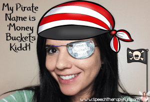 Speech Therapy Fun: Talk Like A Pirate Day