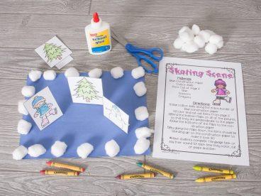 Speech Therapy Winter Craft