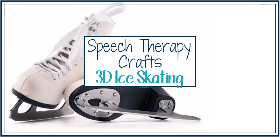 Speech Therapy Winter Craft