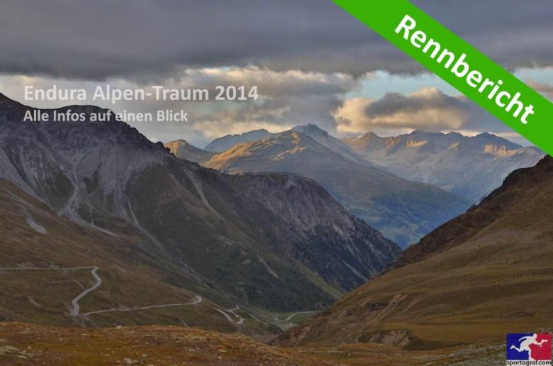 Alpen-Traum 2014 Rennbericht