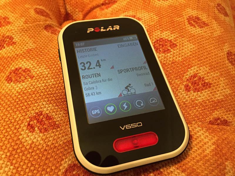 Polar-V650-Test