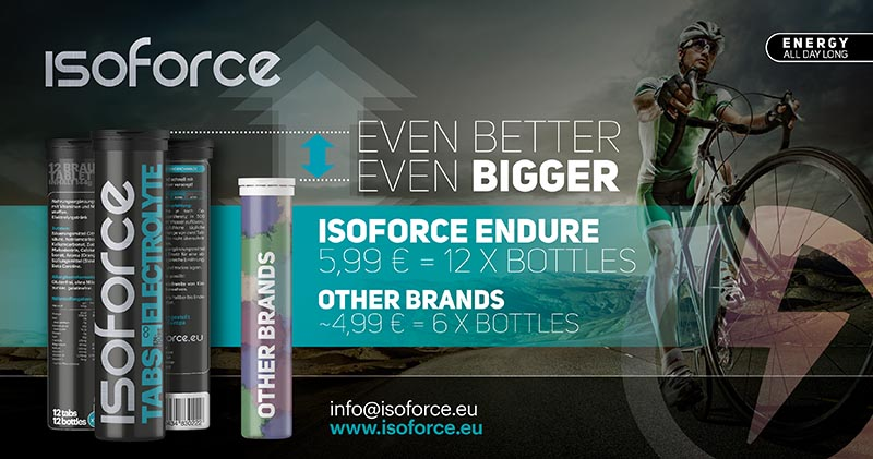 Isoforce Vergleich