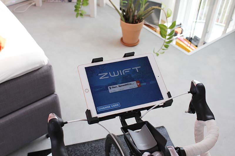 iPad Halterung Zwift