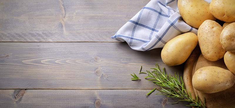 Carbo-Loading mit Kartoffeln