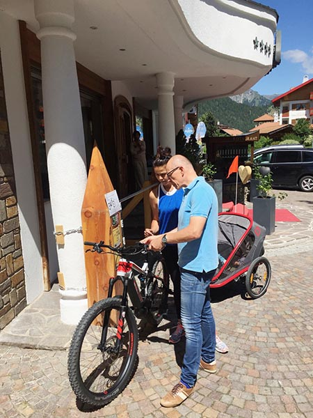 E-Bike Hotel Central Nauders