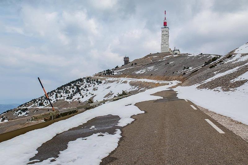 Mont Ventoux mit dem Rennrad