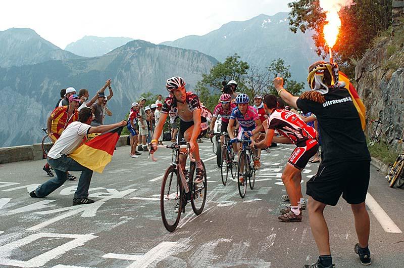 Andy Schleck Alpe d'Huez