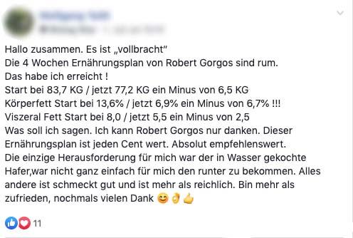 Erfahrungen Robert Gorgos