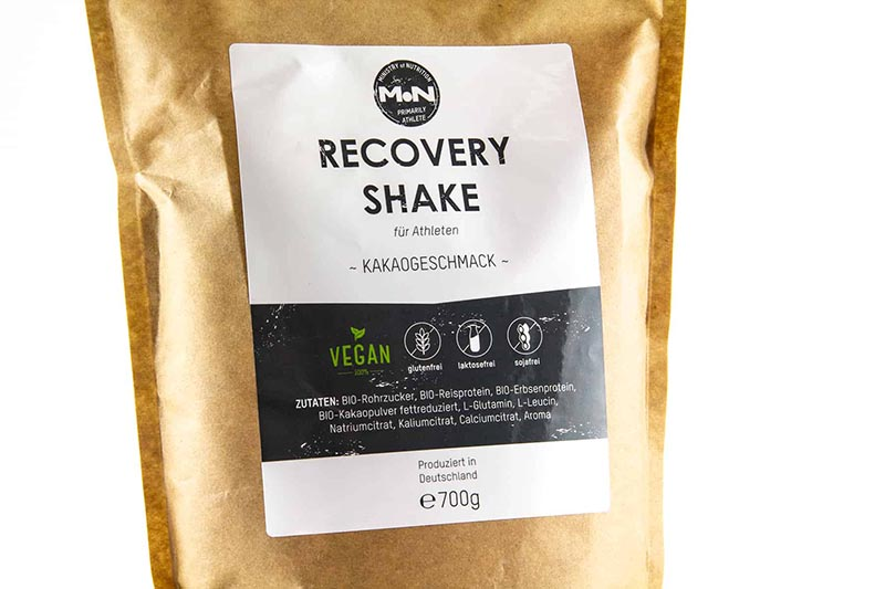 Recovery Shake von Ministry of Nutrition