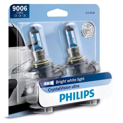 Bombillo Crystal Vision Philips 9006 12V