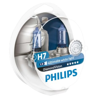 Bombillo Crystal Vision Philips H7 12V