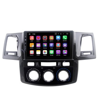 Pantalla Tactil Android De 10.1 Pulgadas Para Toyota Hilux 2012-2015