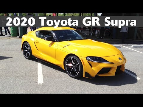 2020 Toyota GR Supra first drive: start-up, exhaust sound, drifting & track driving