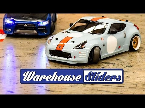 Drifting at Warehouse Sliders with Mark Rogers – Nissan 370z