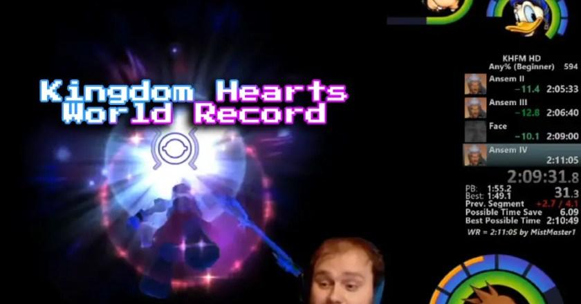 Kingdom Hearts 1 Final Mix Any% — Improved World Record