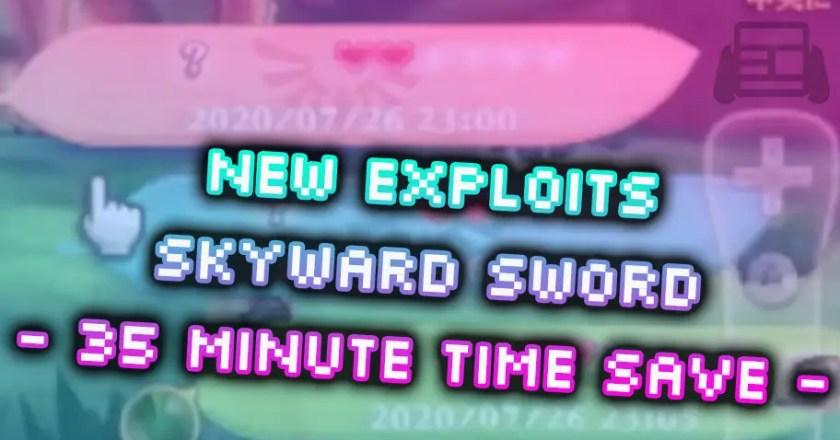 New EXPLOITS found in The Legend of ZELDA: Skyward Sword