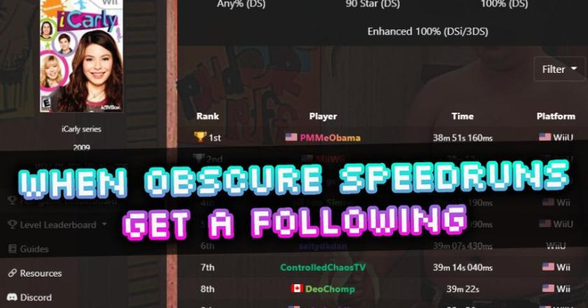 How to Grow a Following in an Obscure Speedrun: The iCarly Blow Up – A Case Study