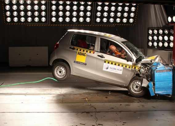Maruti Celerio Global NCAP