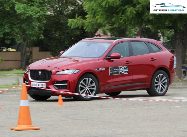 Jaguar Art of Performance Tour F-Pace
