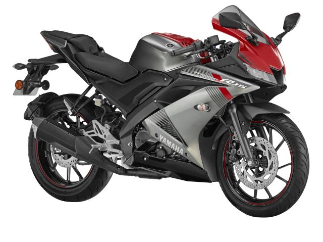Yamaha 2018 YZF-R15 Thunder Grey