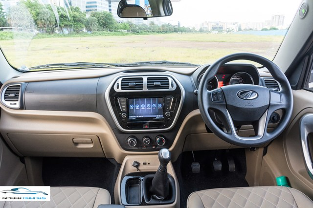 Mahindra TUV300 Plus Review Interior
