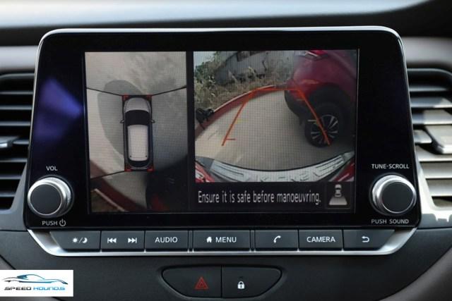 Nissan Kicks camera
