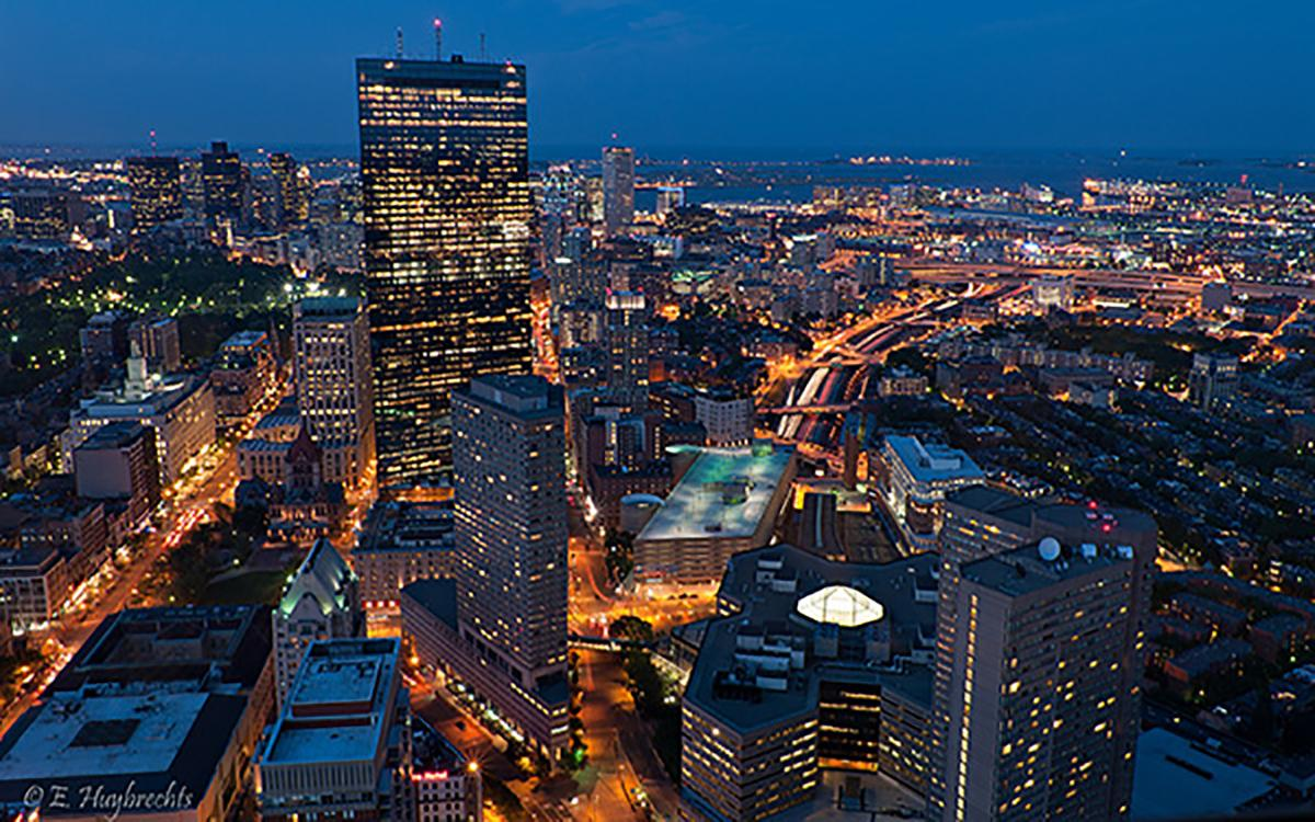 Image result for boston night