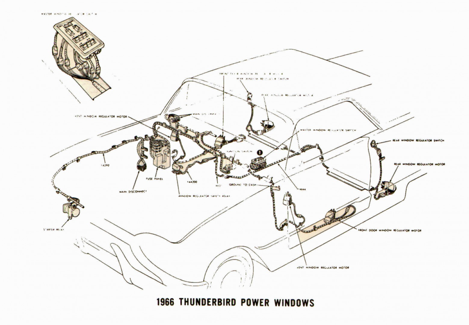 1962 Thunderbird Wiring Diagram Simple Wiring Schematics 1962 Thunderbird  Wiring Schematics