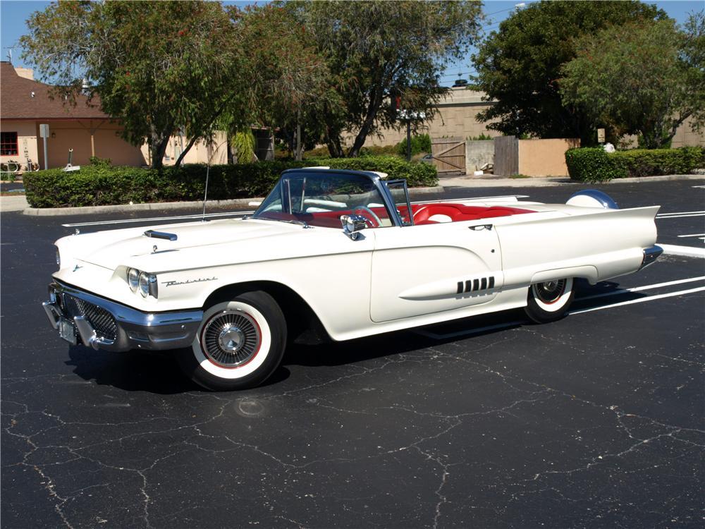 1958-Ford-Thunderbird-convertible