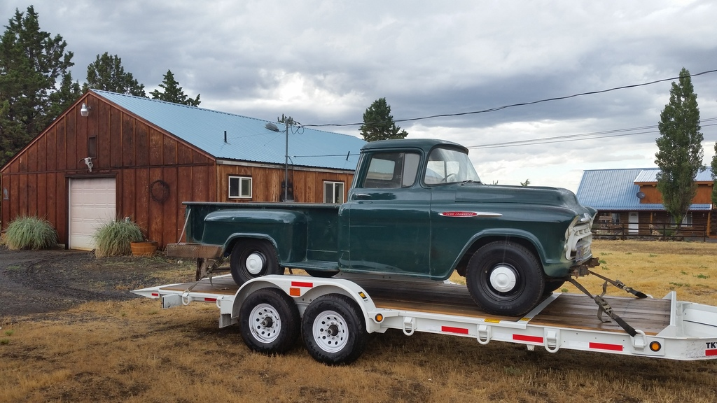 1957 Chevy Apache 3200 longbed