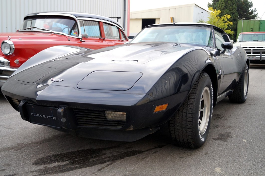 1979 C3 Corvette with L82 V8 engine