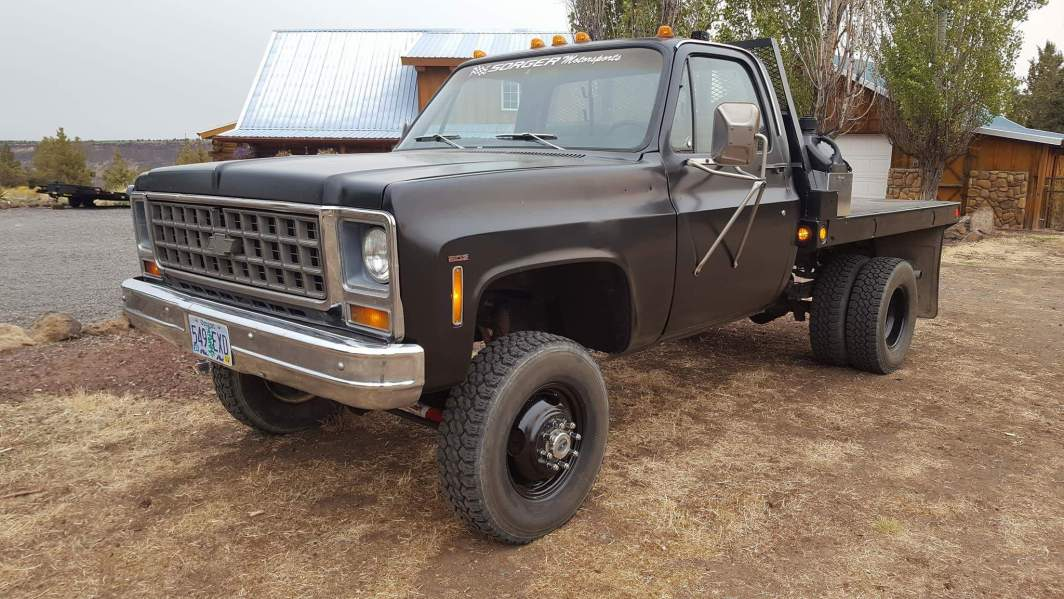 1980 Chevrolet K30 - 502ci