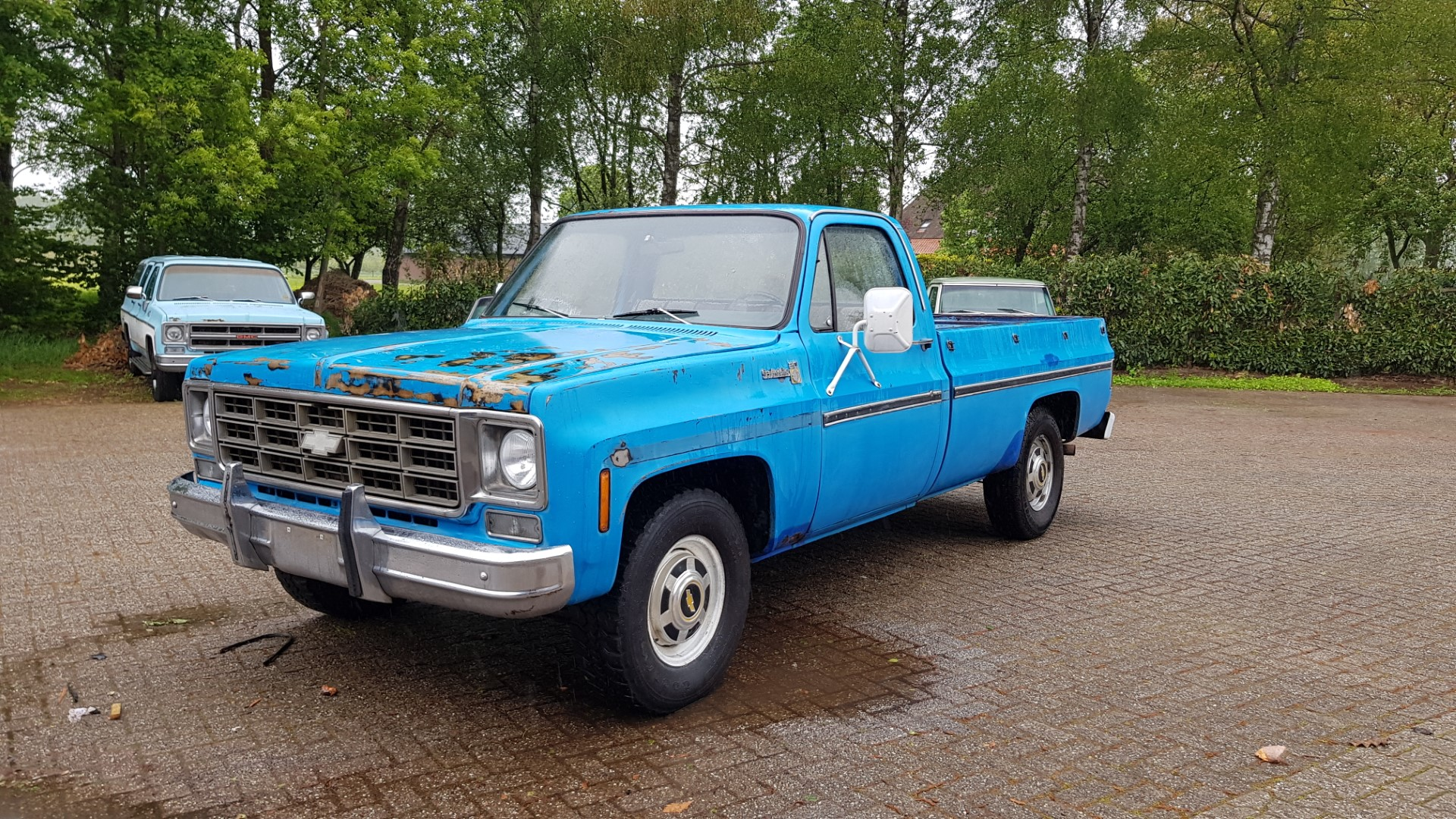 1977 Chevrolet C20 Scottsdale 350ci Manual (1)