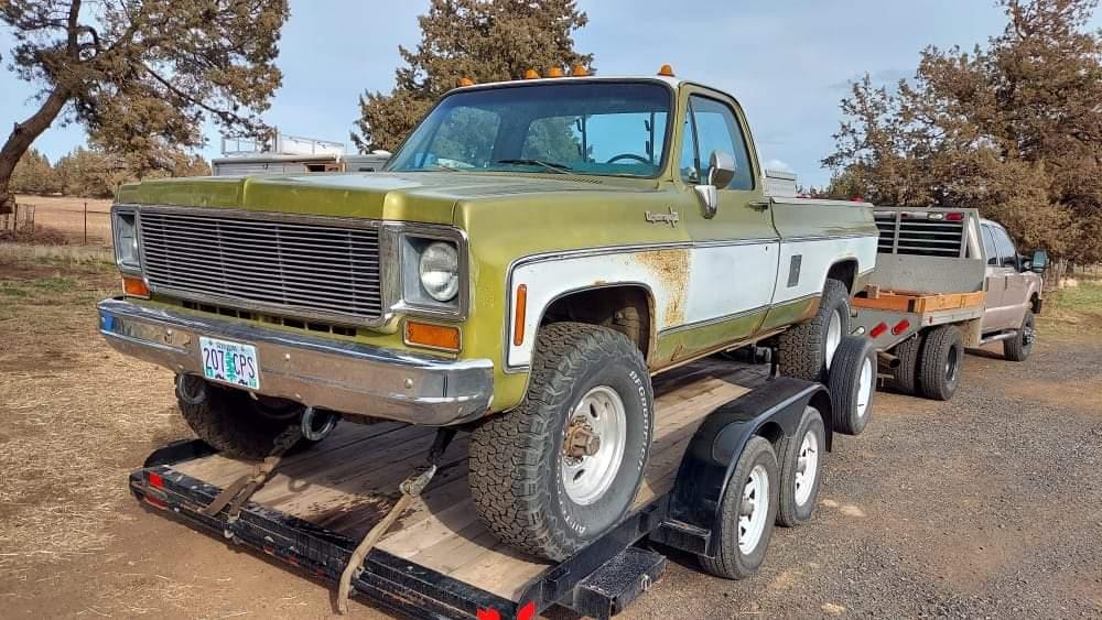 1973 Chevrolet K20 Super Cheyenne 4x4 350ci V8 (1)