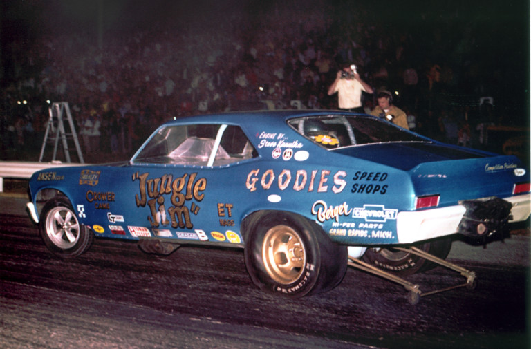 jungle jim drag strip car