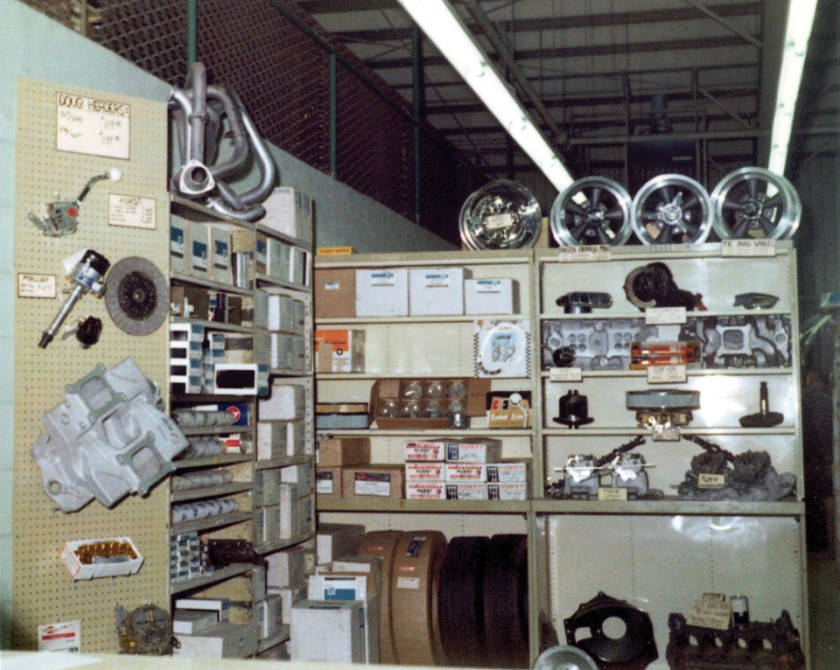 Chevrolet parts back in the day