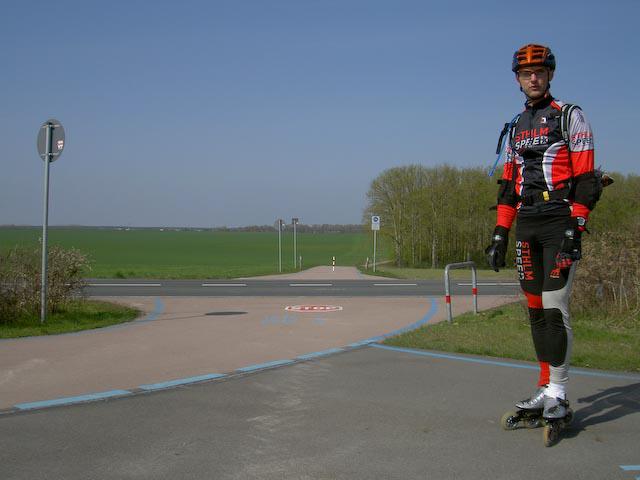 Flaeming skate, april 2008. Foto: Ulf Haase med Rudi Eichlers kamera.