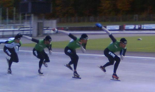 Inzell, oktober 2008. Foto: Johan Cerne.