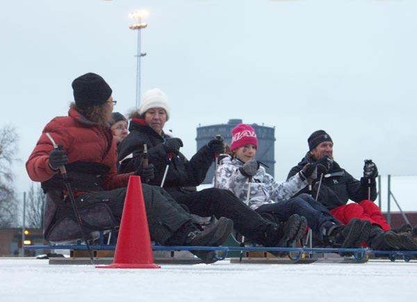 Skridskons dag, Ö–IP, 2008-12-13. Foto: Ulf Haase.
