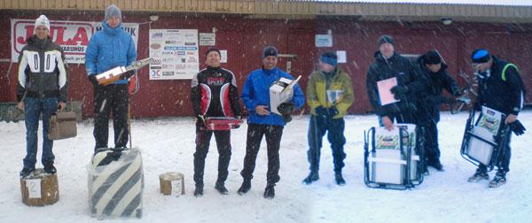 Sollentunaloppet 22 feb 2009, herrar tävling. Mobilkamerafoton: Björn Larsson och Berit Olofsson.