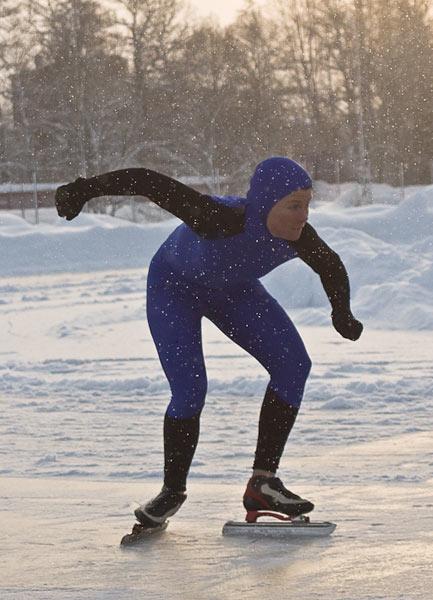 Karolin Palmertz Cerne, Sala, 2009-01-02. Foto: Bengt Silfverling.