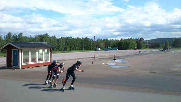 Falun 2014-05-31, halkbanan. Mobilkamerafoto: Ulf Haase.