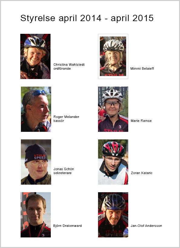 Sthlm Speeds styrelse 2014-04