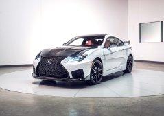 Lexus RC-F Photo: James Lipman
