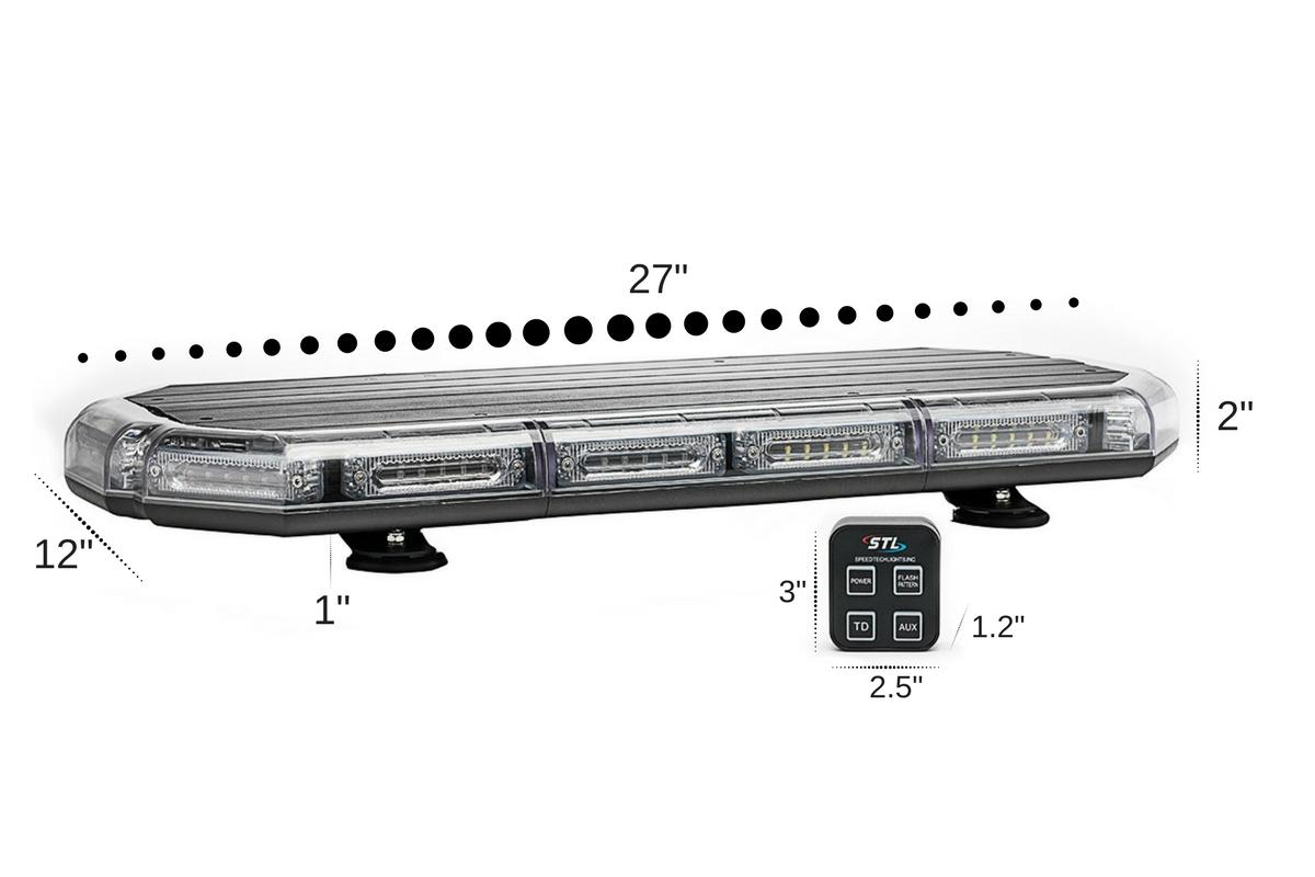 K Force 27 Linear Led Mini Light Bar