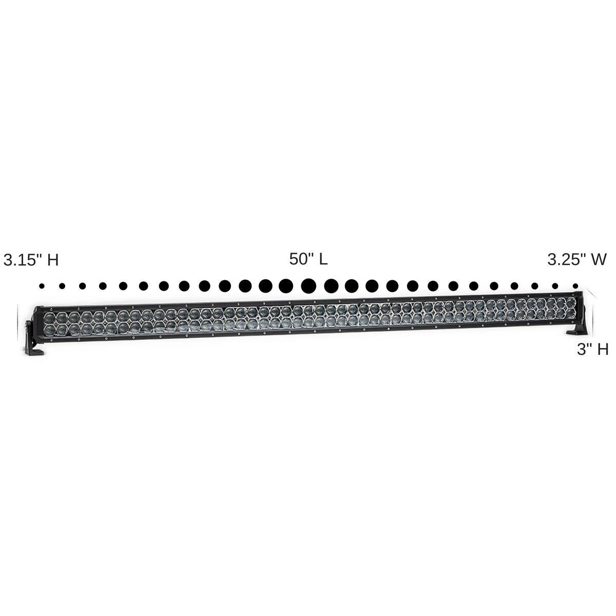 Dual Carbine 50 Floodlight Off Road Led Light Bar