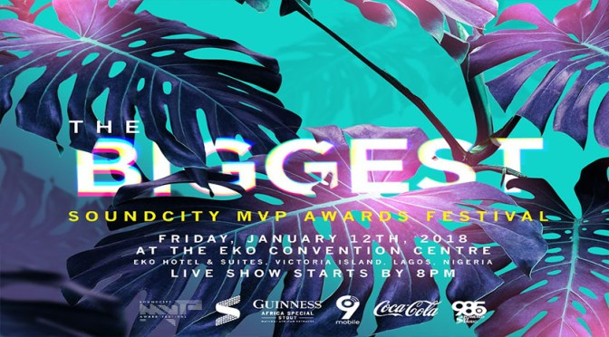 NEW:SOUNDCITYMVP AWARDS FESTIVAL UNVEIL NOMINEES, ANNOUNCE DATE