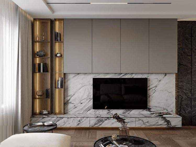 custom made tv console for home and